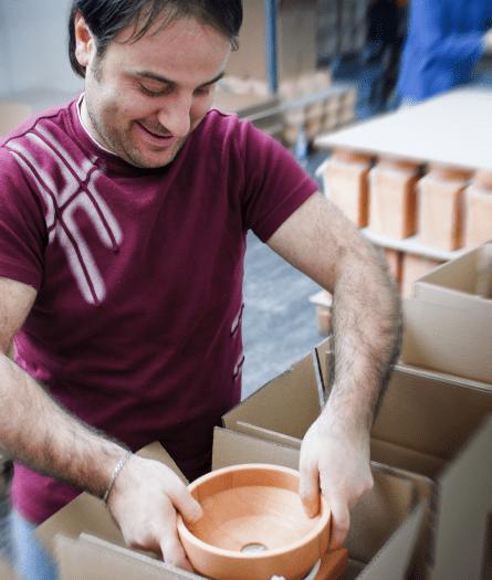 balenie, výroba mlynčekov